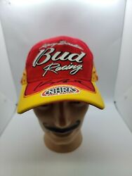 Kenny Bernstein Bud Budweiser Racing Signed Autographed Hat Nhra Brand New Rare