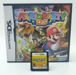 Mario Party for Nintendo DS Complete in Box CIB amp; 100% Unlocked Save All Boards $29.99