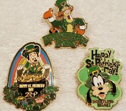 Saint Patrick's Day 25 Pin Collection From 2000 To 2005 Dl,wdw,da