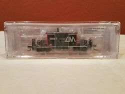 N Scale Blueford 24120 Transfer Caboose Short Roof Central Michigan Rd Cmgn 1
