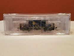 N Scale Blueford 23091 Transfer Caboose Longroof Norfolk And Western 518730 New