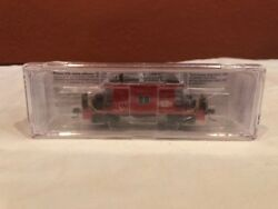 N Scale Blueford 21081 Short Body Bay Window Caboose Illinois Rditc 804 New