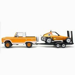 1/25 Ford Bronco Half Cab W/dune Buggy And Trailer Rmx857228