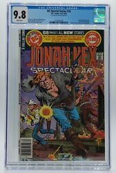 Dc Special Series Jonah Hex Spectacular 16 Cgc 9.8 Double Cover One Of A Kind
