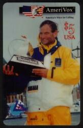 5. Whitbread World Sailing Yacht Race Ross Field And Trophy Test Phone Card