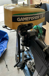 Gamefisher Tanaka 1.2 Hp Outboard Motor Two Stroke