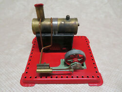 Mamod Se.1a Toy Steam Engine Stationary Live Model Flywheel Made In England
