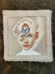 Hand made Modern abstract Oil Painting on Canvas The elves no frame #I279