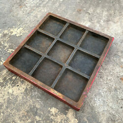 Precision Inspection 12 Lapping Cast Iron Surface Plate, Engineering Cnc Tools