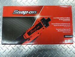Snap-on Ctss761gmdb 14.4v Microlithium Cordless In-line Screwdriver Tool Only