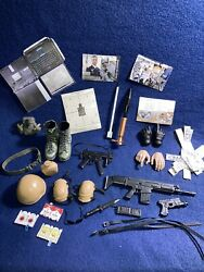 Action Figure Mixed Lot Clothing Equipment 12 Inch Figure