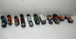 Lot Of 11 Thomas The Train And Friends Wooden Magnetic Trains Others