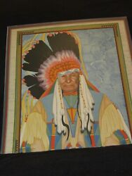 Rare March 1928 Calendar Of And039mountain Chiefand039