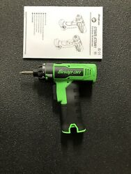 Snap On Brushless 14.4v Cordless Power 1/4 Bit Screwdriver Drill Cts825 Cts761