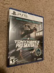 Tony Hawk Pro Skater 1+2 Ps5 Fully Remastered For Playstation 5. New Sealed