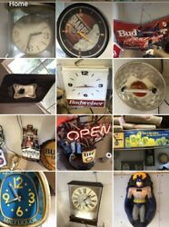 Man Cave Beer Sign Lot. 42 Signs. Local Pickup