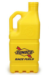 R7200yl Bj Sunoco Vented 5 Gallon Jug With Aluminum Valve And Hose 1 Pack Green