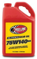 Red57105 Red Line 57105 75w140ns Gl 5 Gear Oil 1 Gallon 1 Pack