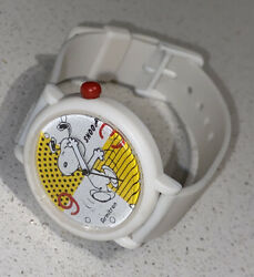 Peanuts Snoopy Comic Character Watch by Armitron Vintage NOS Wristwatch Cartoon