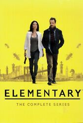 Elementary The Complete Series Dvd Box Set Brand New Free Shipping