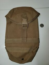 Tactical Tailor Large Utility Pouch Gp Upright Molle Coyote Brown - New