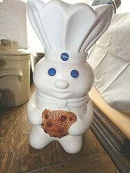 Pillsbury Doughboy Cookie Jar Rare 2011 Given At Marketing Exct Events Free Ship