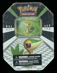 Sealed 2011 Pokemon Cards Spring Snivy Tin 2x Call Of Legends Booster Packs