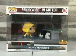 Funko Pop Movie Moments It Pennywise In Gutter 584 Vinyl Figure See Pics I03
