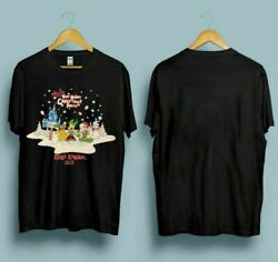 NEW Funny Snoopy And Friends Begins Christmas Party T Shirt Size S 3XL