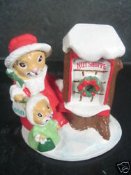 Avon Forest Friends Shopping For Treats Mice Mib