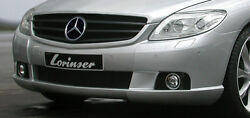 Lorinser Oem Genuine Front Bumper For Mercedes-benz Cl Class C216 2007-2010 New