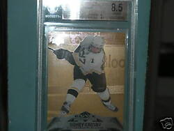 07/08 BGS 8.5 black diamond quad gold sidney crosby very rare limited to 10 #6