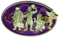 Disney Traveling Tink Liberty Square Haunted Mansion Hitchhiking Ghost Pin