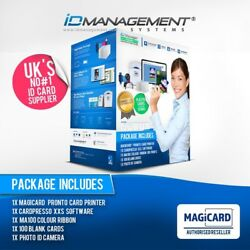 Magicard Pronto Complete Id Card System • Ships Worldwide • 5000+ Sold