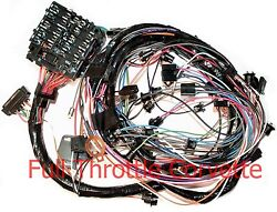 1976 Corvette Wiring Harness Dash With Automatic Transmission Us Repro C3 New