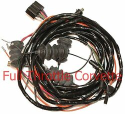 1963 Corvette Wiring Harness Rear Lamp Body With Back Ups C2 Us Reproduction New