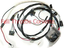 Early 1977 Corvette Wiring Harness Engine Manual Transmission Us Repro C3 New