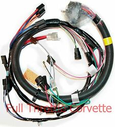 1981 Corvette Wiring Harness Engine With Manual Transmission Reproduction C3 New