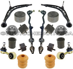 Control Arm Ball Joint Bushing Tie Rod Strut Engine Tranny Mount For Bmw E30 325