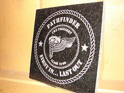 Stone Personalized Laser Tribute Plaque Gifts Awards
