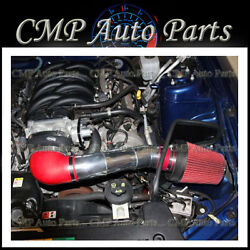 Red Cold Air Intake Kit Systems Fit 2005-2009 Mustang 4.6l V8 Engine