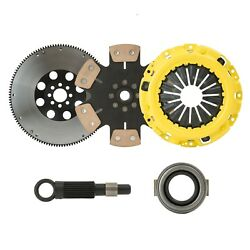 STAGE 4 SOLID RACE CLUTCH KIT+9LBS FLYWHEEL fits 1994-2001 ACURA INTEGRA by CXP