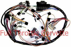 1963 Corvette Wiring Harness Dash With Back-up Lights Us Reproduction C2 New