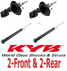 4-pieces Kyb Gr-2 /excel Shocks/struts Front And Rear Audi Tt Fwd 2000 To 06
