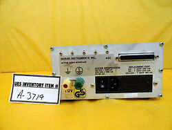 Noran Instruments 700p125849 Active Scan Interface Asi Rev. B Used Working