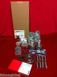 Ford 6 Deluxe Engine Kit 1941 42 46 47 226 90hp Pistons Valves Rings Gaskets G