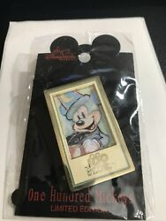 Disney Dlr One Hundred Mickeys Pin Series Mm 005 Sorcerer Eric Robison Pin