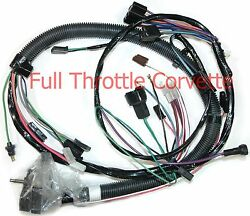 1980 Corvette Wiring Harness Engine Auto Transmission And Lock Up Converter Us C3