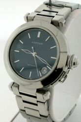 Pasha C Blue Dial Stainless Steel Automatic With Date 36mm Unisex Watch