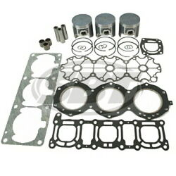 Yamaha Pwc And Jet Boat 1200 Non Power Valve Engine Top End Rebuild Kit
